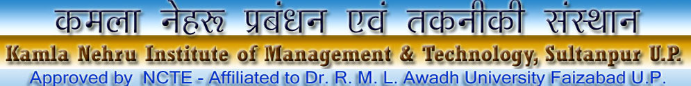 Welcome to KNIMT Faculty of Education Sultanpur U.P.